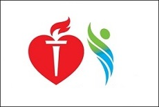 American Heart Association and PCORI logos