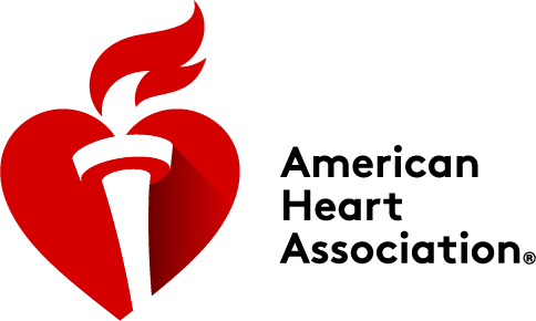 The American Heart Association's logo.
