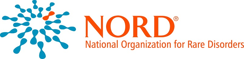 The National Organization for Rare Disorders' logo.