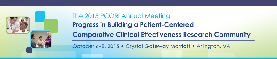 PCORI Annual Meeting 2015 Banner