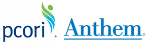 PCORI and Anthem's logo.