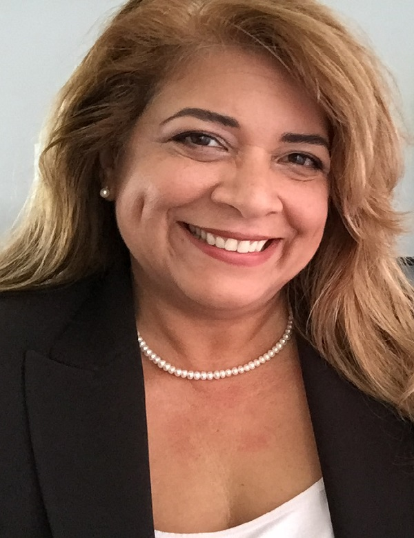 Headshot of Brendaly Rodriguez, MA, CPH, a PCORI Ambassador and previously served as a PCORI Advisory Panel member.