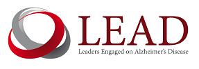 Logo for the LEAD Coalition, which supported the Dementia Methods Pre-Summit on June 7-8, 2017