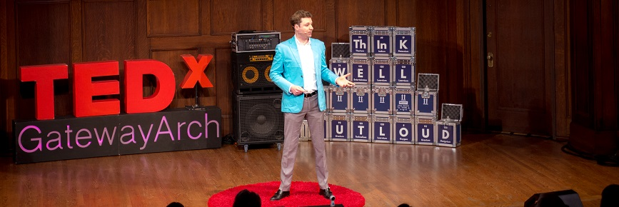Doug Lindsay now tells his story to audiences across the country, including at a TEDx event in St. Louis. Watch it here