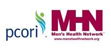 PCORI and Men's Health Network logos