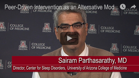 Embedded video clip image for Sleep Apnea Dr. Parthasarathy narrative