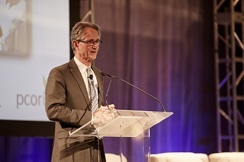PCORI Executive Director Joe Selby speaks at the 2015 PCORI Annual Meeting