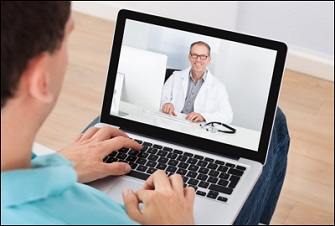 A Man Having a Video Chat With his Doctor