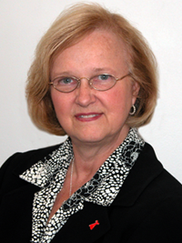A headshot of Rose Marie Robertson, MD.