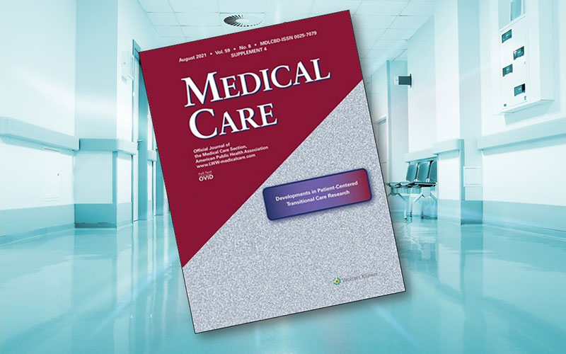 """Cover of the medical journal """"Medical Care"""" -- Developments in Patient-Centered Transitional Care Research: A special July 2021 Medical Care supplement highlights findings, lessons, and challenges in conducting patient-centered research in trans"""
