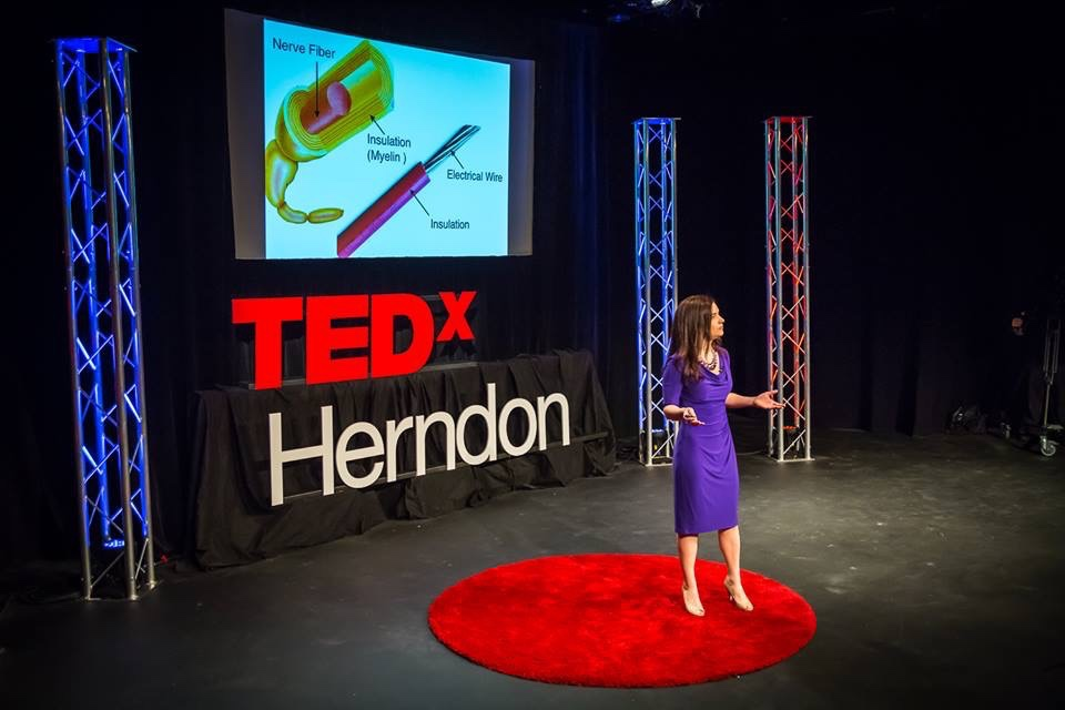 Stephanie Buxhoeveden tells her story of grit in the face of adversity in a TEDx Talk in 2015