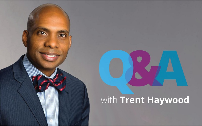 Q&A with Trent Haywood.