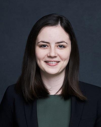 A headshot of Rachael Parsons.